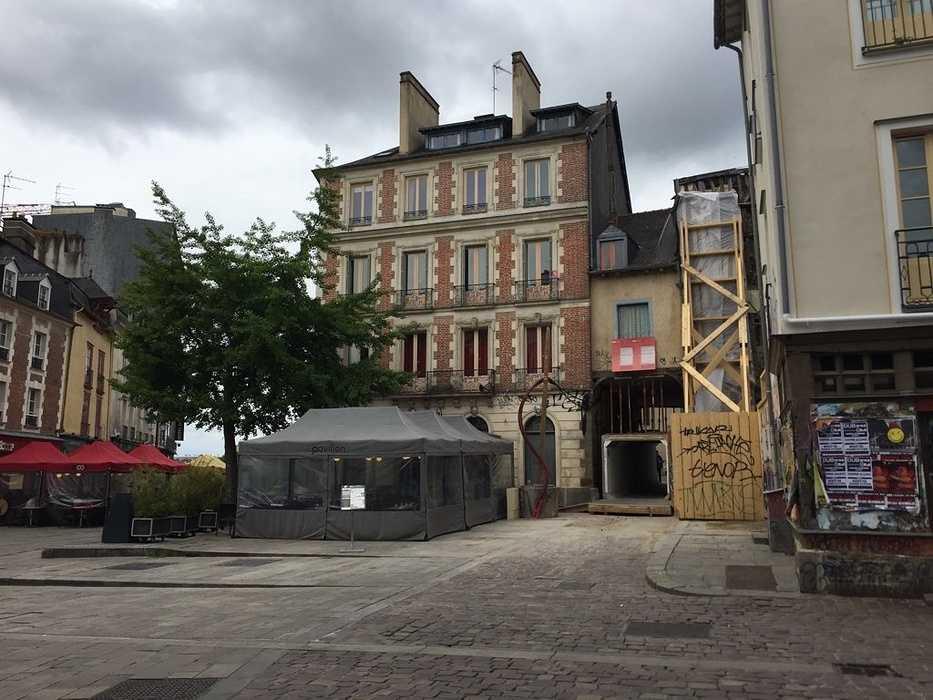 Réhabilitation Immeuble Place Saint Michel à RENNES. 0